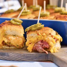 Sunny's Meaty Cheesy Casserole Sliders By Sunny Anderson
