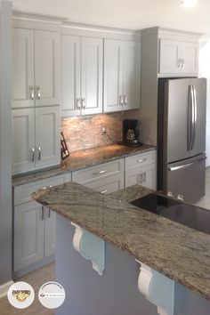 #Nexus Slate Fabuwood #cabinets By 75 Cabinets In Warrington, PA! Kitchen  LayoutsKitchen RedoKitchen DesignsKitchen ...