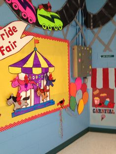 Classroom Welcome, Walls