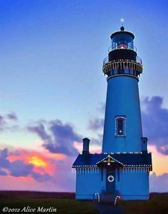 #Lighthouse in Newport