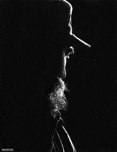 Fidel Castro en un rayo de luz. Foto: Baldrich/ Juventud Rebelde.