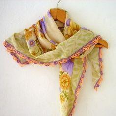 スカーフ - Floral Needle by Fizz Accessory
