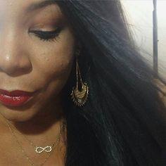 Boa tarde amores!  O lindo maxi brinco da @blogjeanecarneiro está com um super desconto!  Visite nosso site www.lelule.com.br e confira!