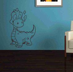 Wall Vinyl Sticker Decals Decor Art Bedroom Design Mural Dragon Version 120