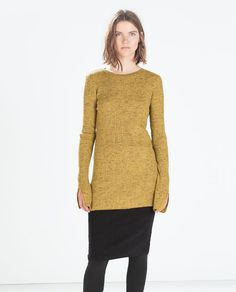RIBBED ROUND-NECK SWEATER