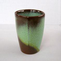 Vintage Frankoma Prairie Green Vase