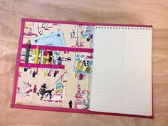 Children love to draw and write on their own pads at Christian meetings. This notebook cover is perfect for assemblies and conventions too.