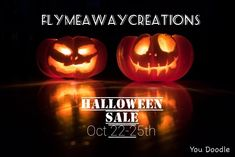 Discounts start oct 22 at Flymeawaycreations Etsy shop