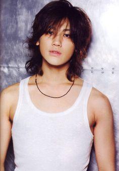 Jin Akanishi Asian Men Long Hair, Hot Asian Men, World Handsome Man, Handsome Boys, Japanese Men Hairstyle, Akanishi Jin, Jin Photo, Idole, Japanese Boy