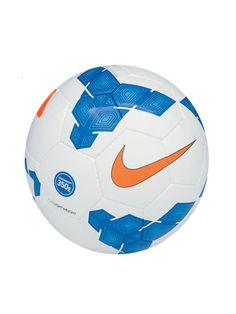 Nike Lightweight Football White Blue - Nike Footballs - A kids training essential. Designed for lightweight feel, straight flight off the foot and a soft touch. Nike Football, Blue Nike, Soccer Shoes, Soccer Ball, Training, Touch, Kids, Football Boots, Young Children