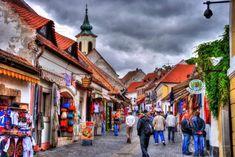 Hungary, Budapest, Street View, Image, Art Ideas