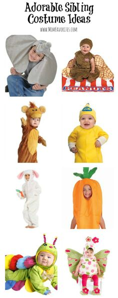 Dressing siblings this Halloween? Check out these sibling costume ideas!