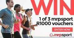 MRP SPORT: WIN 1 OF 3 R1000 VOUCHERS
