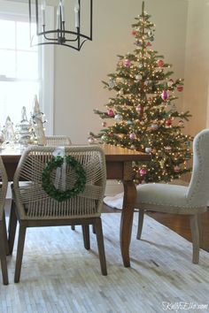 this sparse christmas tree with open branches is perfect for displaying ornaments it looks real and is simple to put together comes prelit or unlit - Martha Stewart 75 Foot Christmas Trees