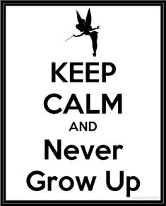Peter Pan is right!