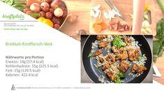 Wok, Vegetables, Broccoli Beef, Food Portions, Recipies, Vegetable Recipes, Veggies