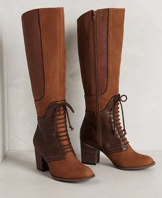 Tara Saddle Boots: This delightful boot is what happens when you mix a saddle shoe with a riding boot! Their vintage-inspired feel will surely add welcome whimsy to closets this fall.