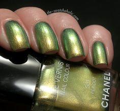The must have: Chanel nail vernis n. 531 Pèridot