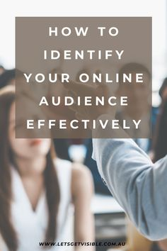 When you know who your audience is, you are able to better direct your marketing budgets and messaging to a specific group, increasing your opportunity to convert those potential customers. ONLINE AUDIENCE   AUDIENCE BUILDING   MARKETING IDEAS