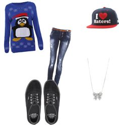 """ugly sweater timmeee"" by alyssa-smedley on Polyvore"