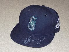 Ken Griffey Jr 1998 All Star Signed Hat Cap Mariners HOF - Autographed Hats * Continue to the product at the image link.