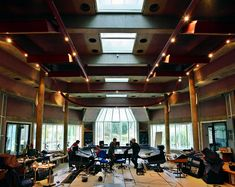 Peter Gabriel's Real World Studios in Bath, England. Photo: Mike Banks