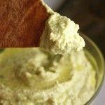 Roasted Poblano Hummus