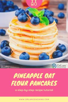 Eating oats can have immense health benefits. You'll be surprised to find out just how much oat flour pancakes can transform your health. Great Breakfast Ideas, Breakfast Recipes, Healthy Desserts, Healthy Recipes, Healthy Food, Oat Flour Pancakes, My Favorite Food, Favorite Recipes, Adrenal Health