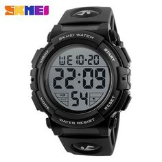 4ae8bb0f0bc Sports Relógios De Pulso Homem Digital Multifunções 50 M À Prova D  Água