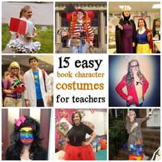 15 easy book character costumes for teachers 15 easy book character costumes for teachers,Book week 15 easy book character Halloween costumes for teachers Related Perfect Halloween Costumes For Every Teacher & Book Lover.