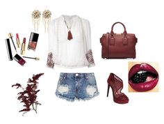 """""""13"""" by tgtoresz on Polyvore featuring One Teaspoon, Lipsy, Burberry, Jessica Simpson and Bebe"""