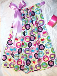 Cupcake pillowcase dress