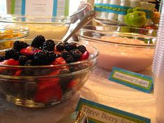 Tried and Tried Again: Yogurt Parfait Bar
