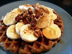 Almond Coconut Waffles
