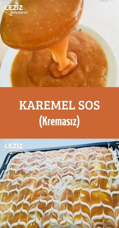 Karemel Sauce (Without Creme) - My Delicious Food - Pancake Recipes Perfect Pancake Recipe, Waffles, Pancakes, Deserts, Food And Drink, Yummy Food, Fruit, Breakfast, Pancake Recipes