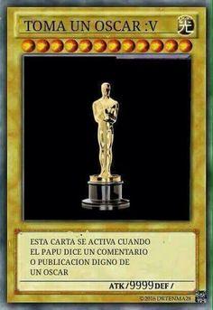 Toma un Oscar