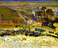 Pierre Bonnard, Autumn Morning (also known as The Grand View of Vernon, 1922