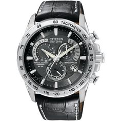 Mens Citizen Chrono Perpetual A-T Alarm Chronograph Radio Controlled  Eco-Drive Watch AT4000-02E 68ed322817