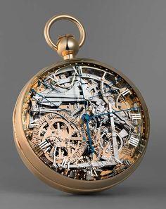 Tic Tac c'est le temps qui passe ! montre à gousset Marie Antoinette de chez Breguet, une merveille de l'horlogerie !