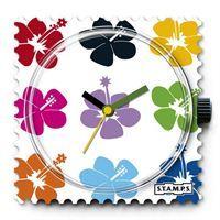 Ahora si que vas a estar de moda con tu nuevo reloj STAMPS Ahola, flores y colores que alegrarán tu imagen. www.relojes-especiales.net