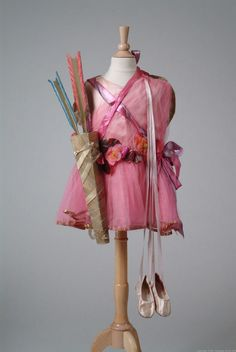An absolutely precious child's fairy costume designed by Callot Soeurs, 1922