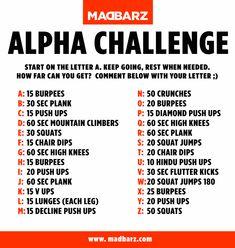 Extreme Home Workout Challenge - Madbarz Alpha