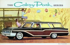 1961 Mercury Colony Park Station Wagon | Flickr - Photo Sharing!