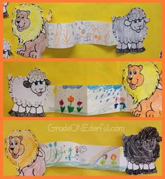 March Lion And Lamb Maze Printables For Kids Free Word