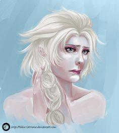 Elsa Concept by ScarlettIwater.deviantart.com on @DeviantArt