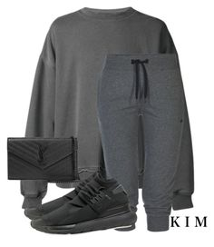 """""""Untitled #2738"""" by whokd ❤ liked on Polyvore featuring Haider Ackermann, ONLY, Y-3, Yves Saint Laurent, women's clothing, women, female, woman, misses and juniors"""