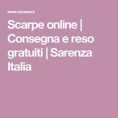 Scarpe online | Consegna e reso gratuiti | Sarenza Italia