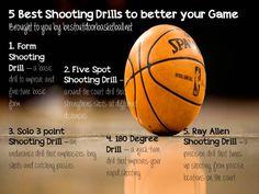 5 Great Basketball Shooting Drills