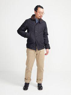 the real mccoy's - n-1 deck jacket