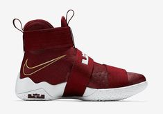 0ec126d9d65 The Nike LeBron Zoom Soldier 10 will soon release in this Team Red colorway.